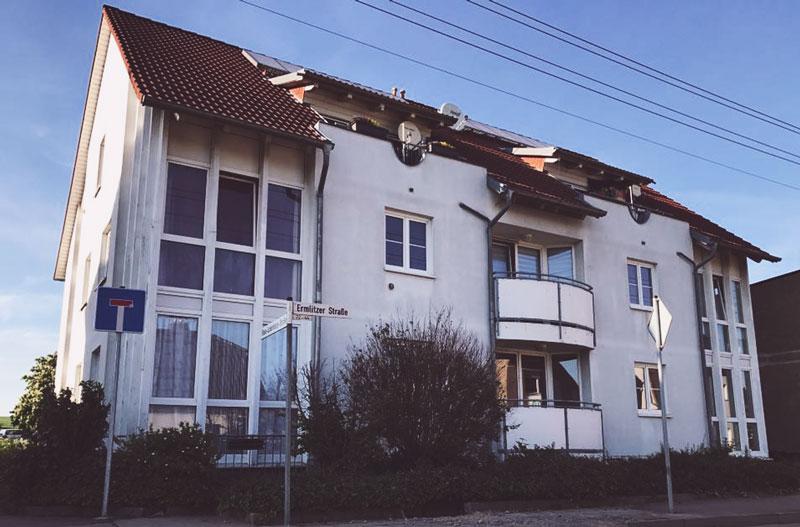 Grundriss der Senioren-WG in Schkeuditz